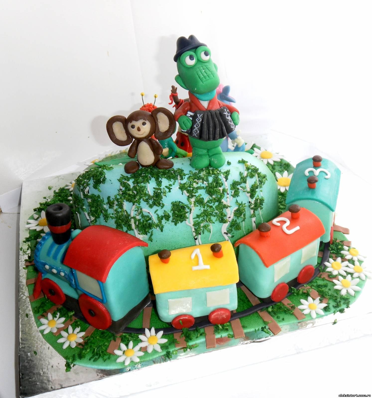 Торт с рулетом внутри фото 3